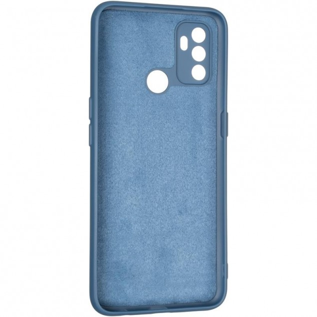 Full Soft Case for Oppo A32/A53 Blue