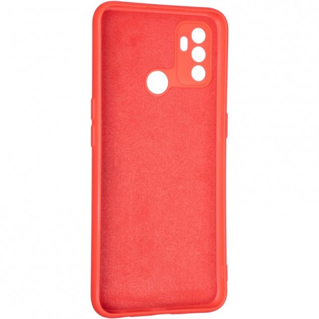 Full Soft Case for Oppo A32/A53 Red