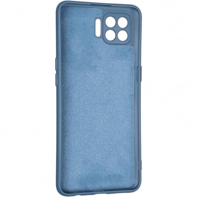 Full Soft Case for Oppo Reno 4 Lite/A93 Blue