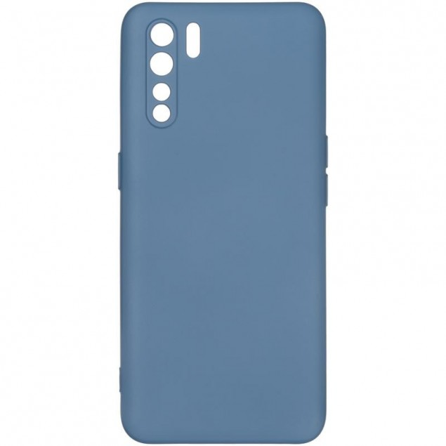 Full Soft Case for Oppo A91 Blue