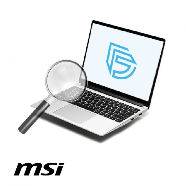 Диагностика ноутбука MSI