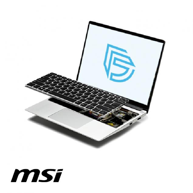 Замена клавиатуры в ноутбуке MSI