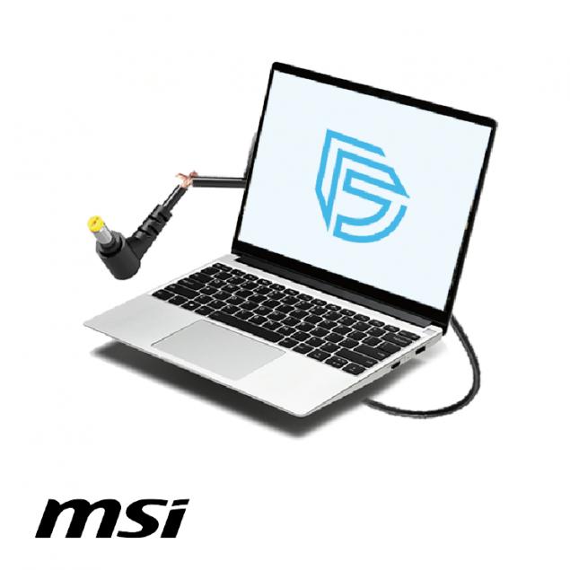 Замена перебитого кабеля в зарядке ноутбука MSI