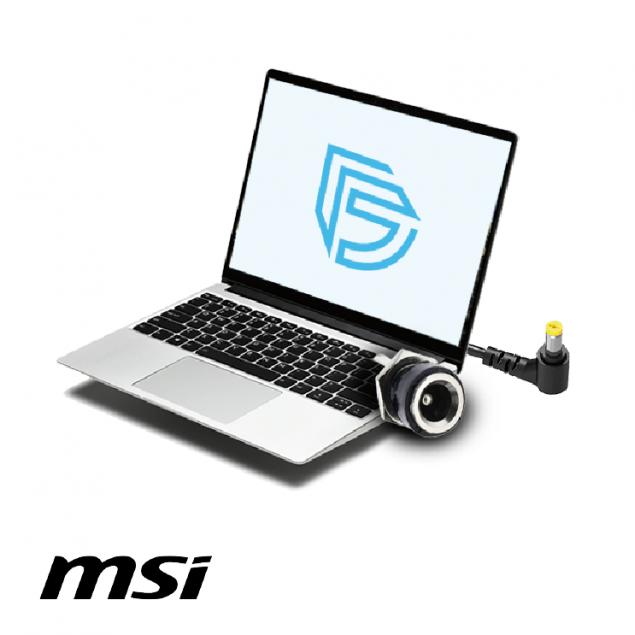 Замена разъема зарядки в ноутбуке MSI