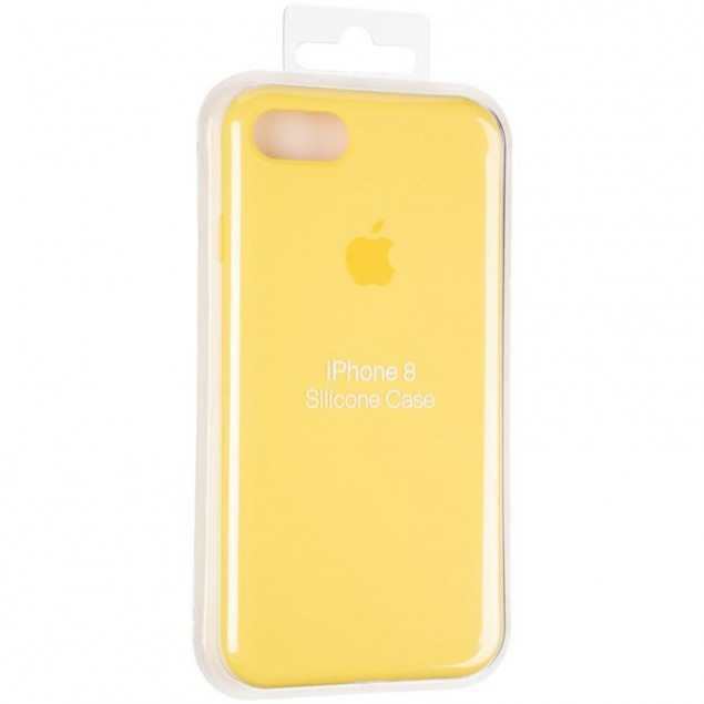 Original Full Soft Case for iPhone 7/8/SE Canary Yellow