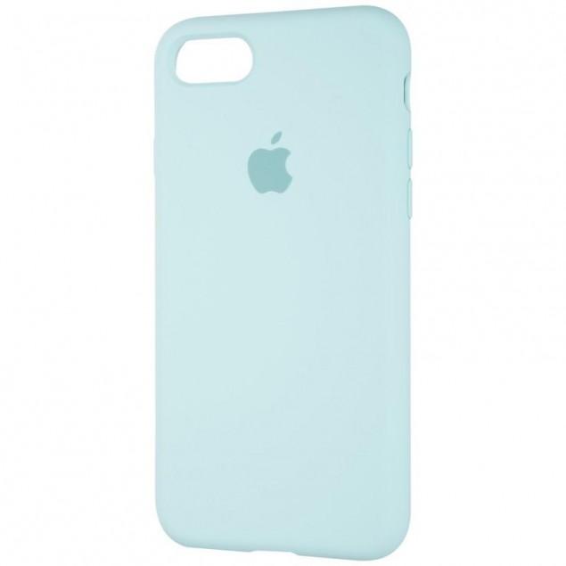 Original Full Soft Case for iPhone 7/8/SE Ice Sea Blue