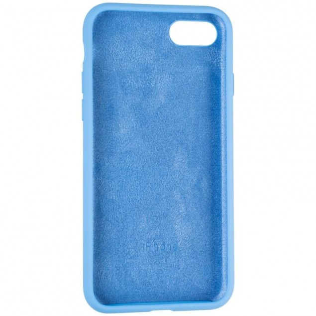 Original Full Soft Case for iPhone 7/8/SE Marine Blue