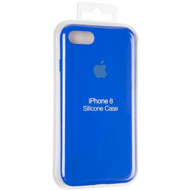 Original Full Soft Case for iPhone 7/8/SE Sapphire Blue