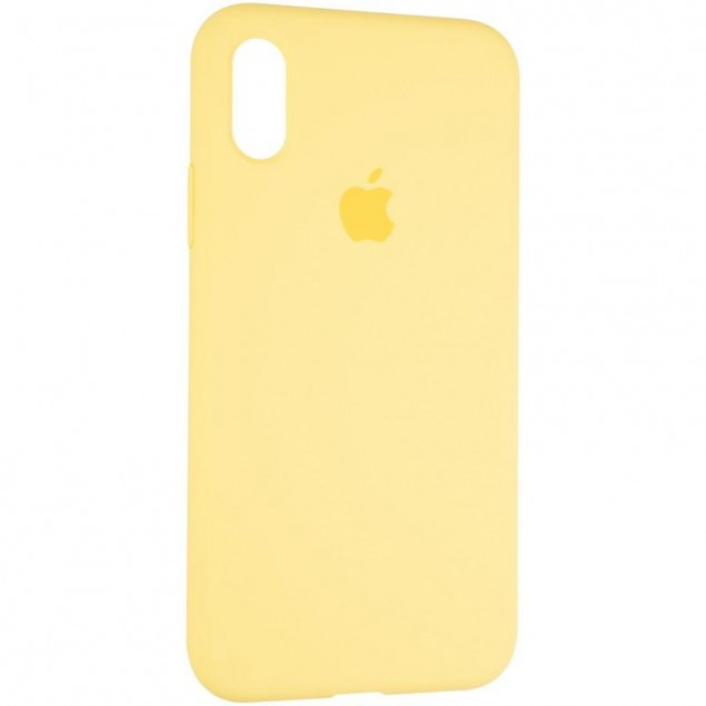 Original Full Soft Case for iPhone X/XS Canary Yellow