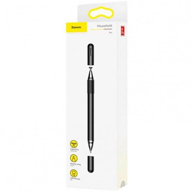 Baseus Golden Cudgel Capacitive Stylus Pen 2in1 Black (Ручка-стилус)