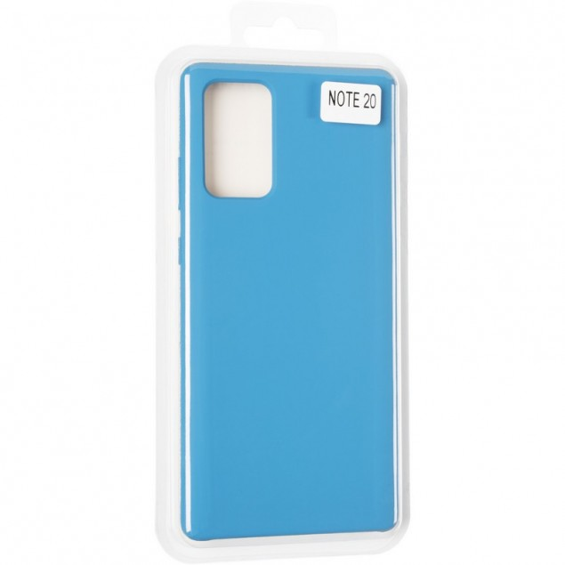 Original 99% Soft Matte Case for Samsung N980 (Note 20) Blue