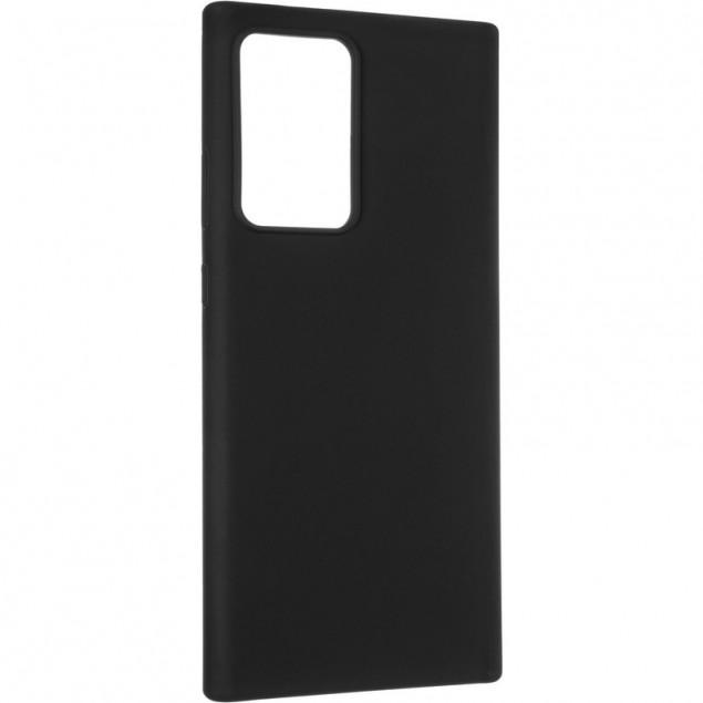 Original 99% Soft Matte Case for Samsung N985 (Note 20 Ultra) Black