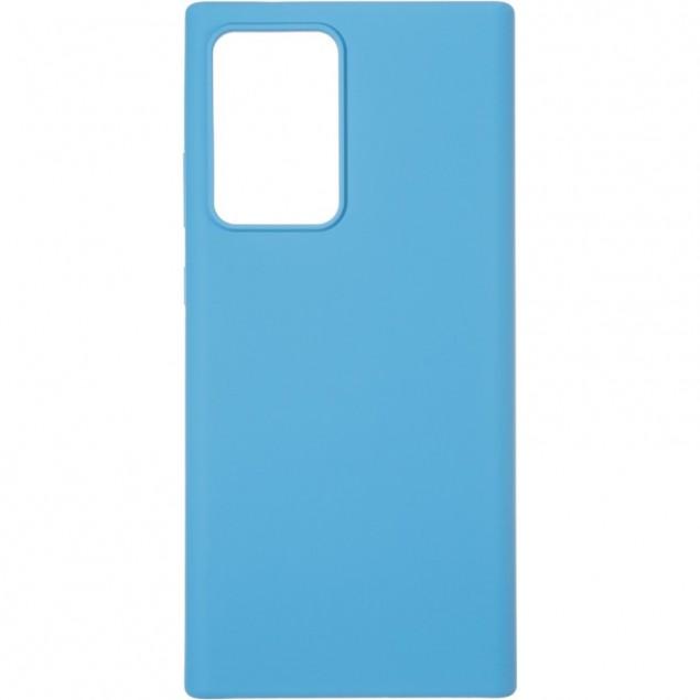 Original 99% Soft Matte Case for Samsung N985 (Note 20 Ultra) Blue