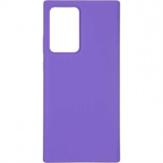 Original 99% Soft Matte Case for Samsung N985 (Note 20 Ultra) Violet