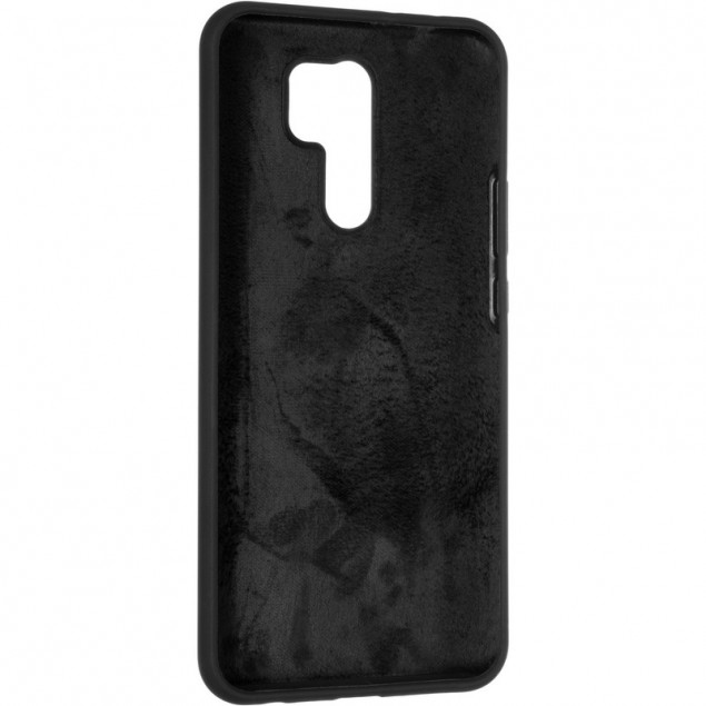 Original 99% Soft Matte Case for Xiaomi Redmi 9 Black
