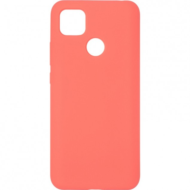 Original 99% Soft Matte Case for Xiaomi Redmi 9C Rose Red
