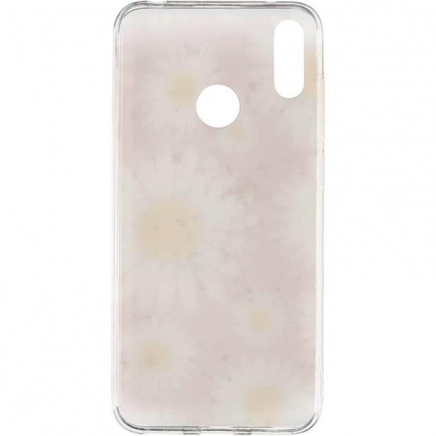 Deep Shine Flowers Case for iPhone X Chamomile