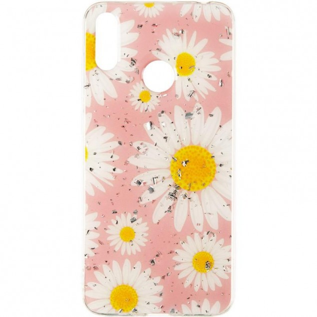 Deep Shine Flowers Case for Samsung A405 (A40) Chamomile