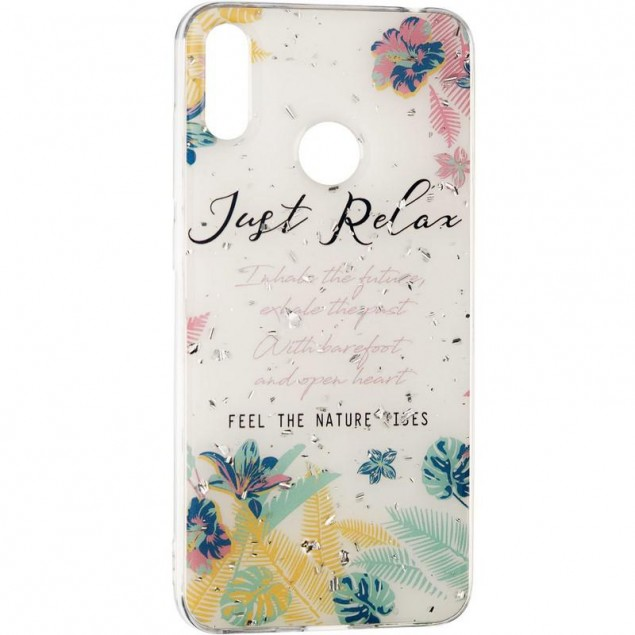 Deep Shine Flowers Case for Samsung A305 (A30) Relax
