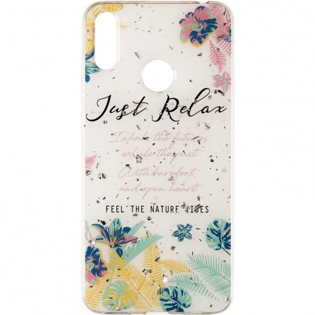 Deep Shine Flowers Case for Samsung A405 (A40) Relax