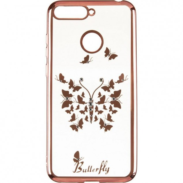 Beckberg Breathe seria (New) for Huawei Y6 Prime (2018) Butterfly