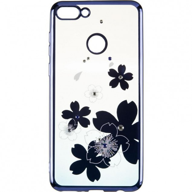 Beckberg Breathe seria (New) for Huawei Y9 (2018) Flowers