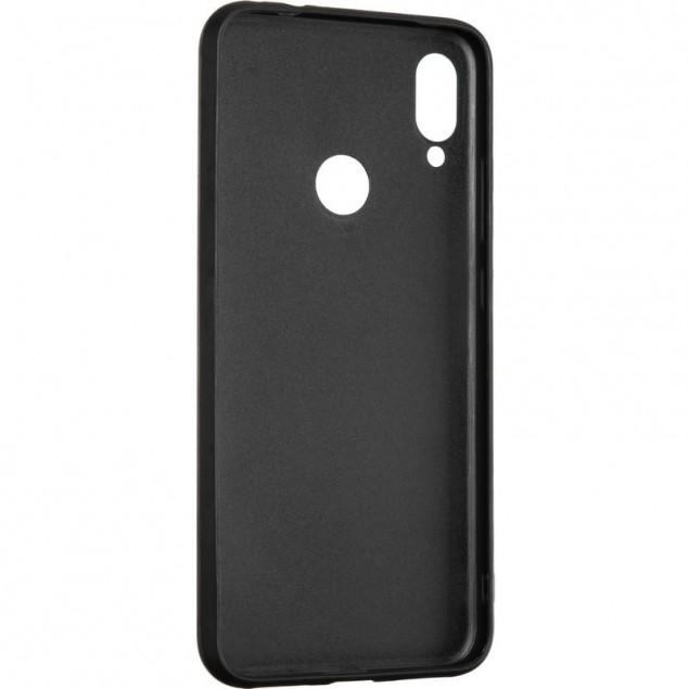 Jesco Leather Case for Xiaomi Redmi Note 7 Pro Blue