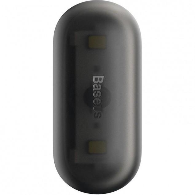 Baseus Capsule Car Interior Lights (2шт) Black (DGXW-01)(Лампа в машину)
