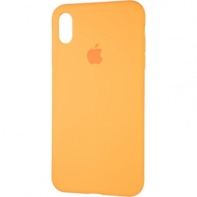 Original Full Soft Case for iPhone XS Max Papaya