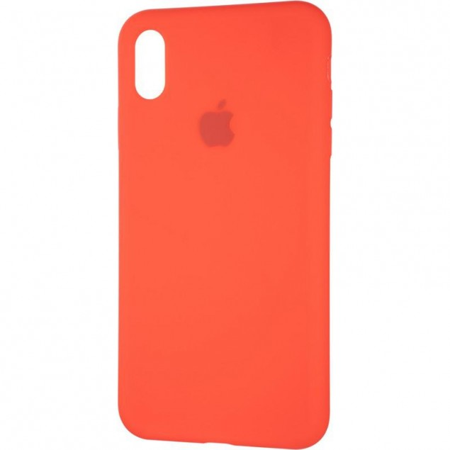 Original Full Soft Case for iPhone XS Max Red