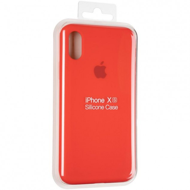 Original Full Soft Case for iPhone X/XS Red