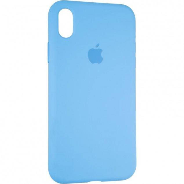 Original Full Soft Case for iPhone XR Marine Blue