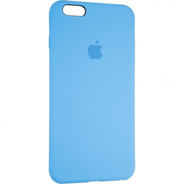 Original Full Soft Case for iPhone 6 Plus Marine Blue