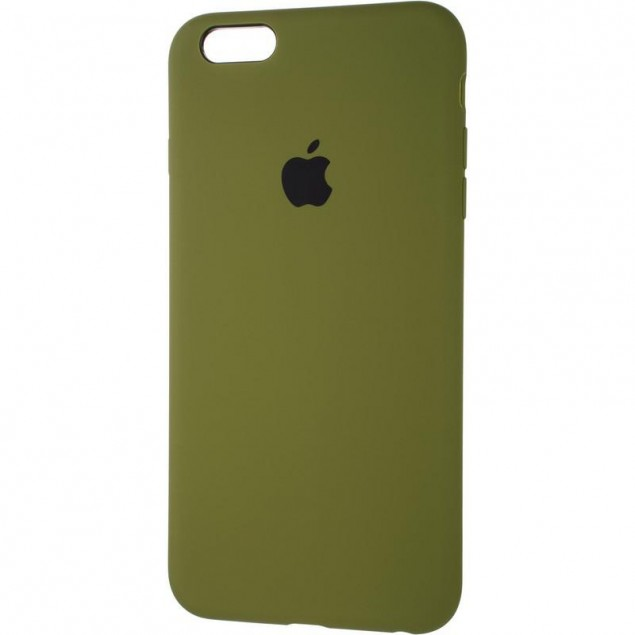 Original Full Soft Case for iPhone 6 Plus Pinery Green