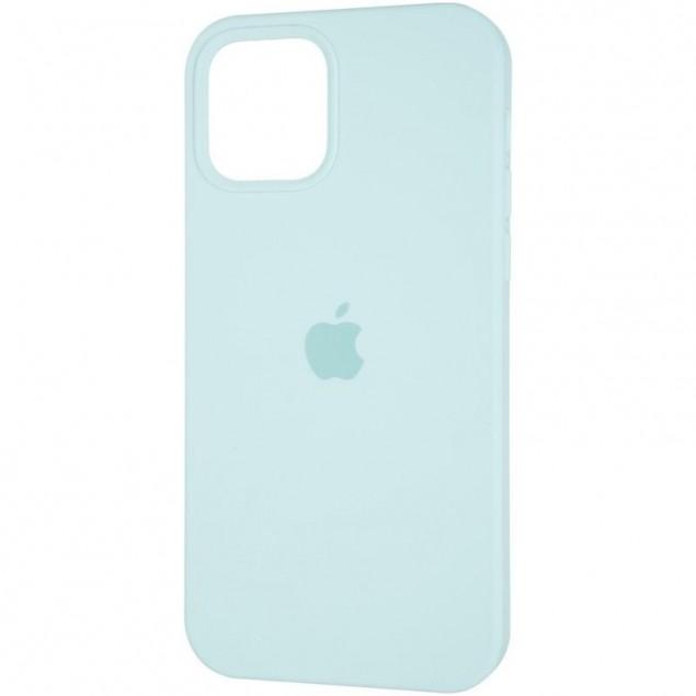 Original Full Soft Case for iPhone 12/12 Pro Ice Sea Blue