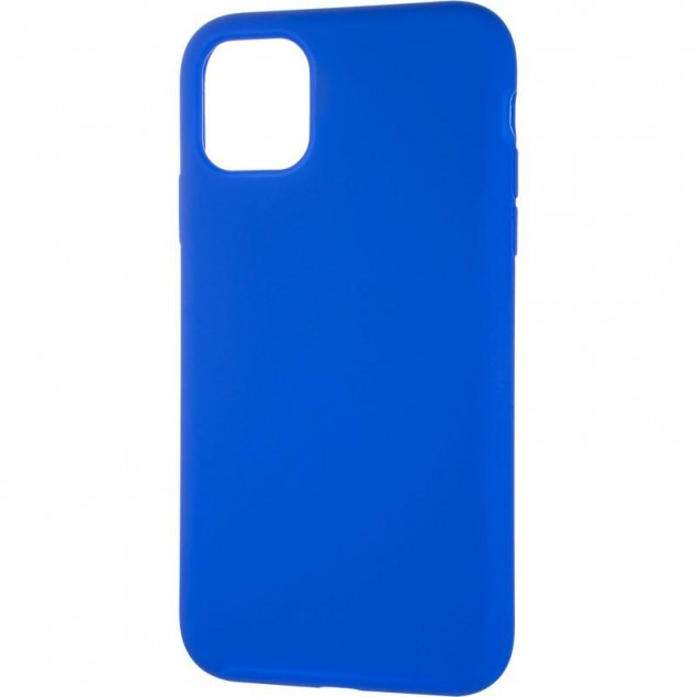 Original Full Soft Case for iPhone 11 Sapphire Blue (without logo)