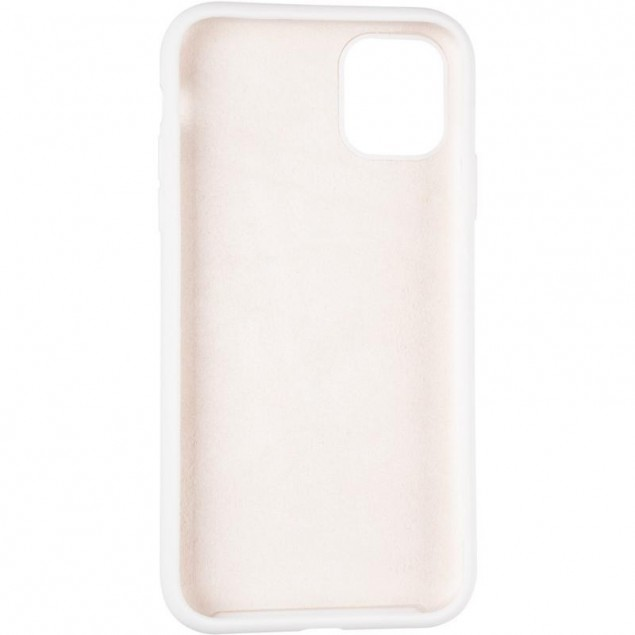 Original Full Soft Case for iPhone 11 White (without logo)