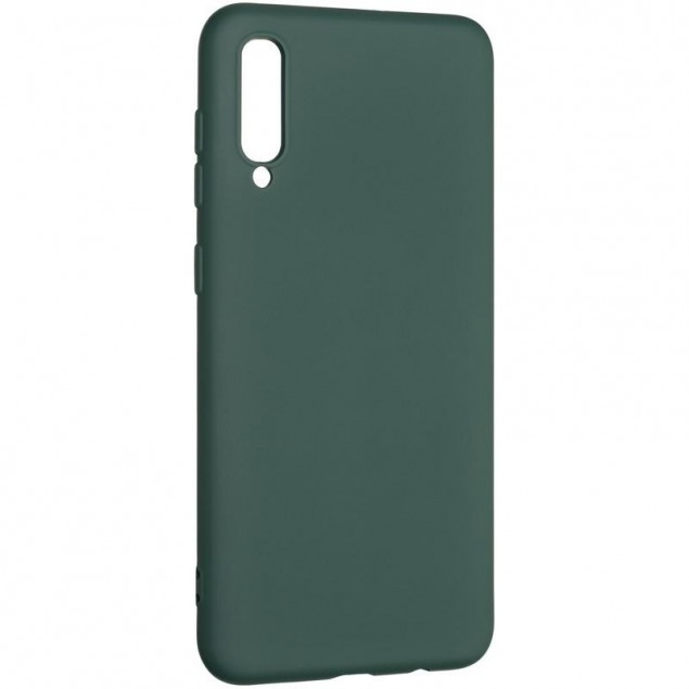 Full Soft Case for Samsung A307 (A30s) Dark Green