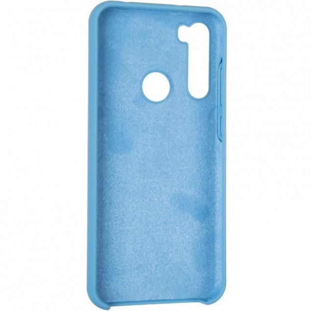 Original 99% Soft Matte Case for Xiaomi Redmi Note 8t Blue