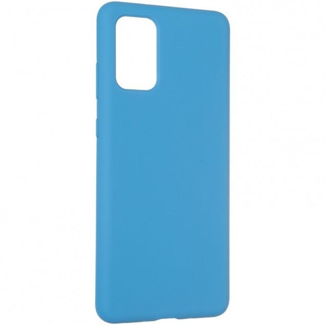 Original 99% Soft Matte Case for Samsung G985 (S20 Plus) Blue