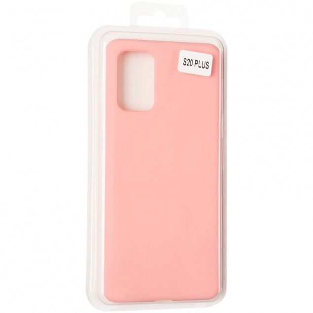 Original 99% Soft Matte Case for Samsung G985 (S20 Plus) Pink
