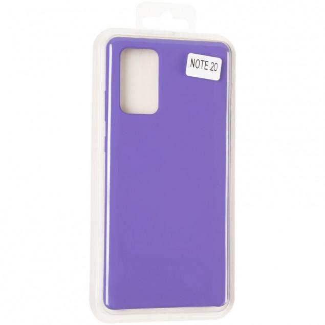 Original 99% Soft Matte Case for Samsung N980 (Note 20) Violet