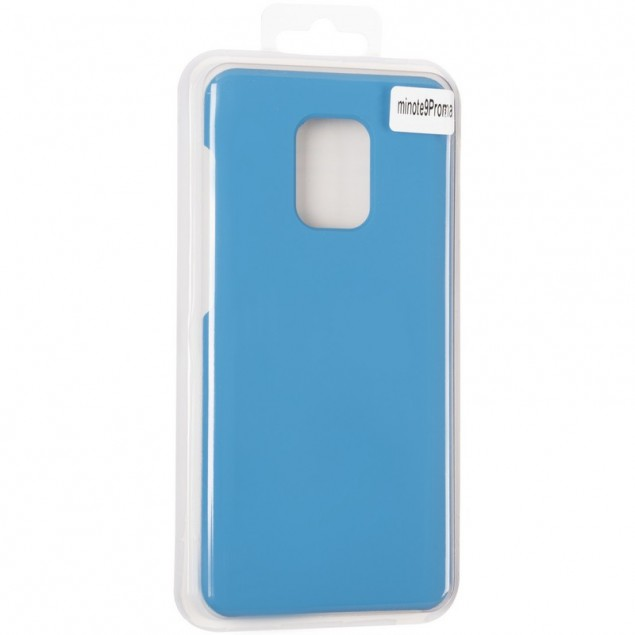 Original 99% Soft Matte Case for Xiaomi Redmi Note 9s/9 Pro Max Blue