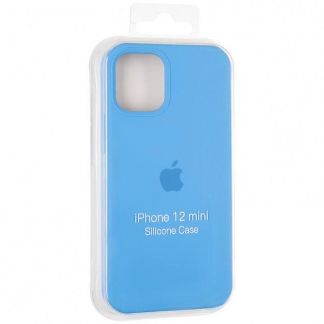 Original Full Soft Case for iPhone 12 Mini Marine Blue