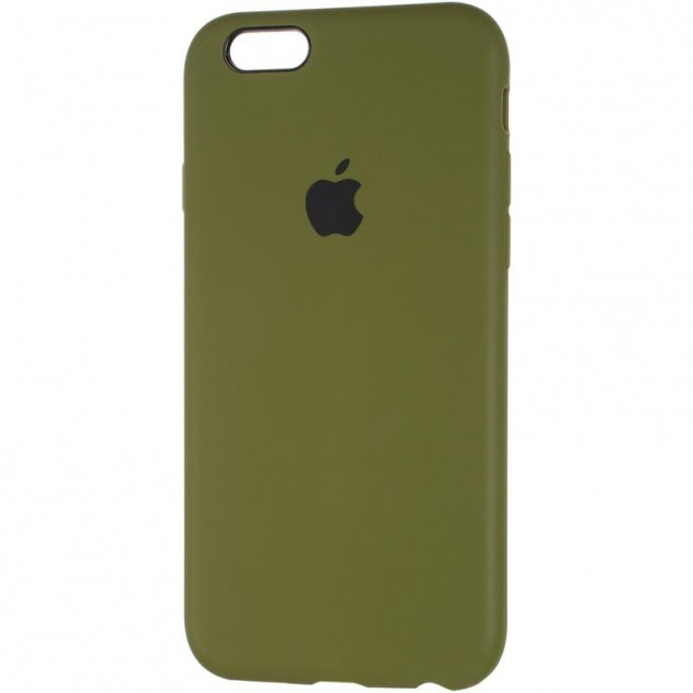 Original Full Soft Case for iPhone 6 Pinery Green