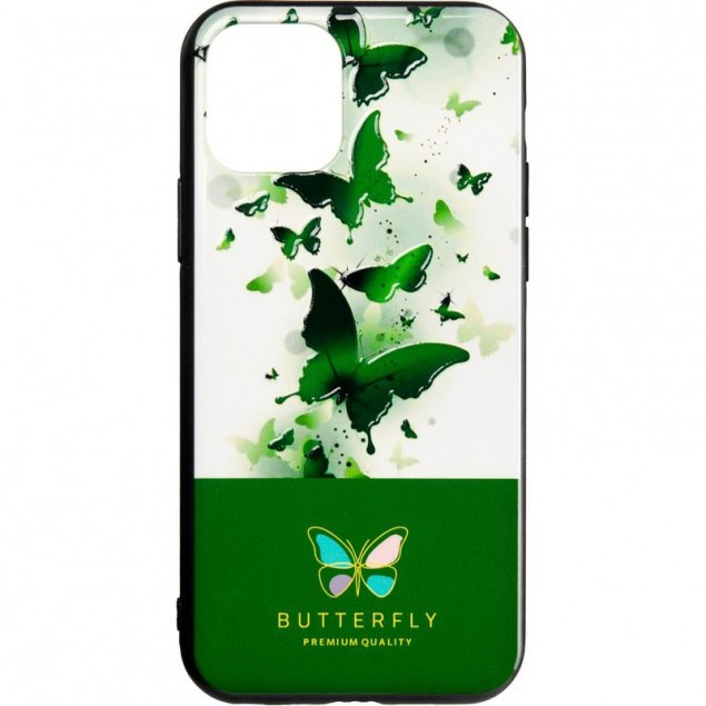 Butterfly Case for Samsung A307 (A30s) Green