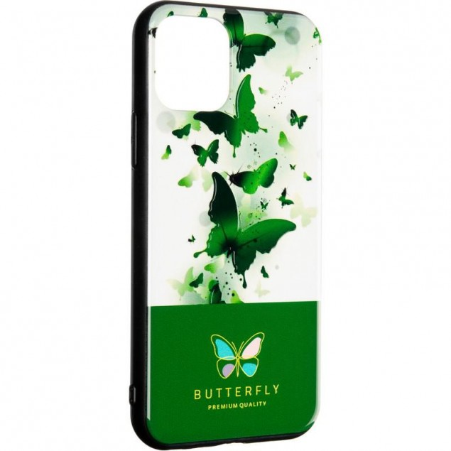 Butterfly Case for Huawei Y6s (2019)/Y6 Prime (2019)/Honor 8a Green