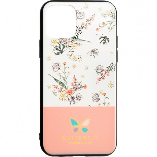 Butterfly Case for iPhone XS Pink