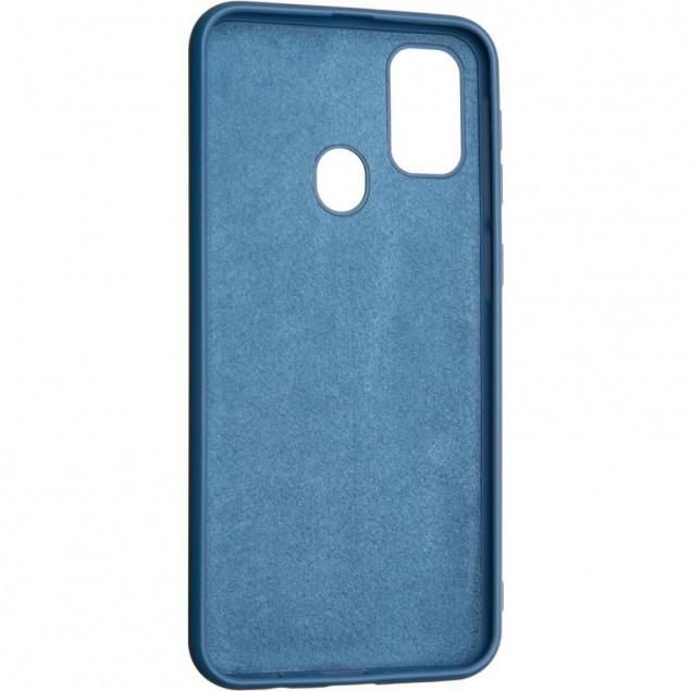 Full Soft Case for Samsung M307 (M30s)/M215 (M21) Blue