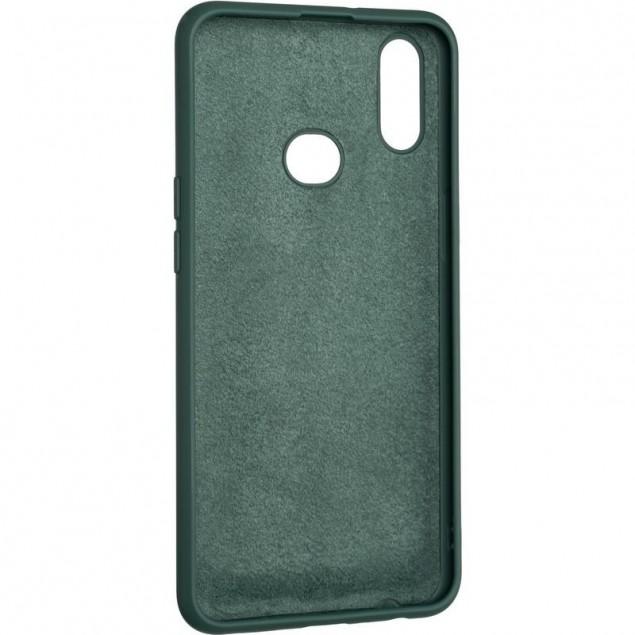 Full Soft Case for Samsung A107 (A10s) Dark Green
